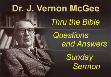 J Vernon McGee: Thru the Bible